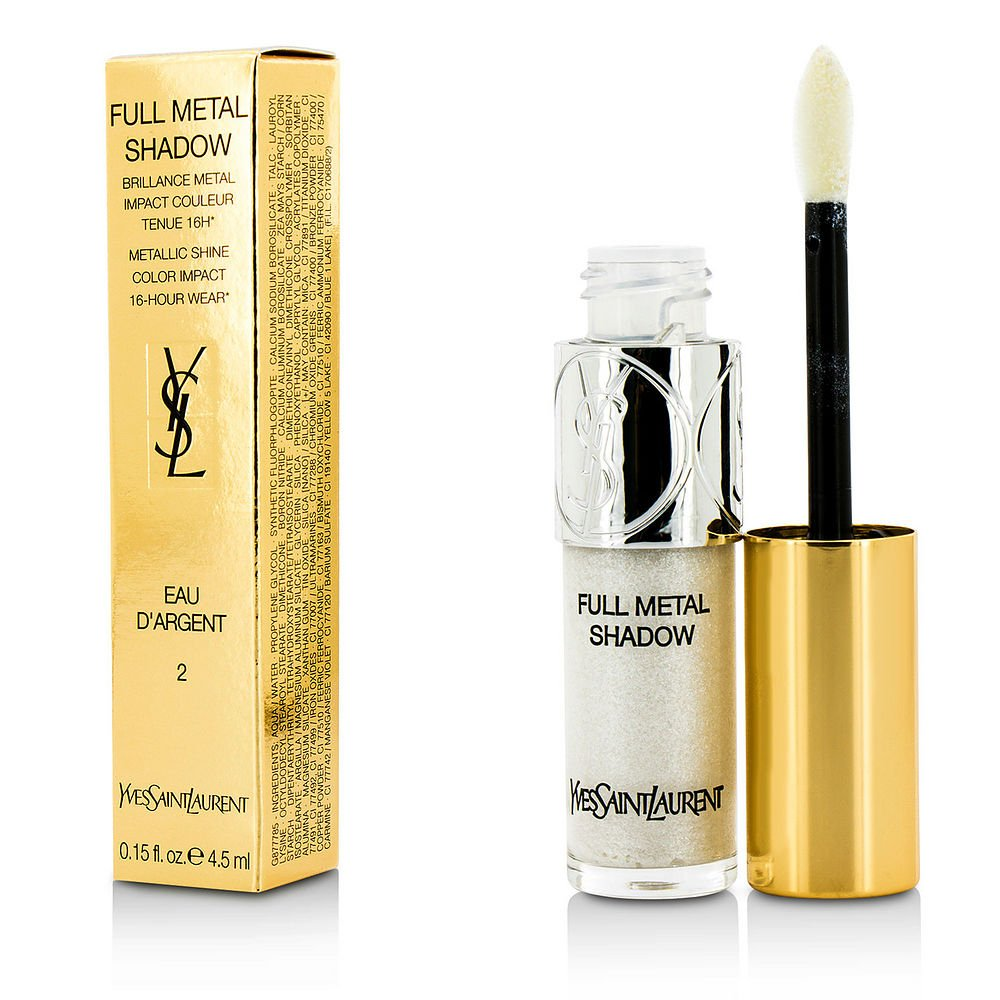 YVES SAINT LAURENT by Yves Saint Laurent Full Metal Shadow - #02 Eau Dargent --4.5ml/0.15oz for WOMEN ---(Package Of 2)