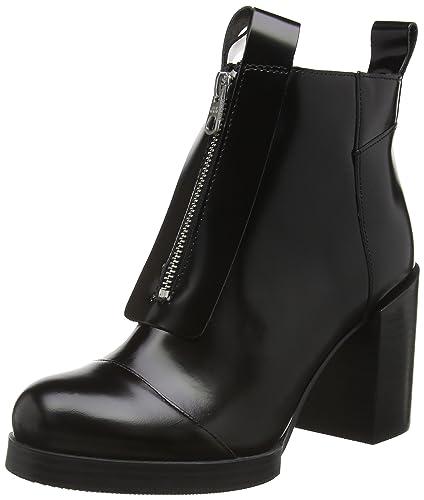 Cheap Monday Block, Bottes Classiques Femme - Noir - Black (Black 200), 38 EU