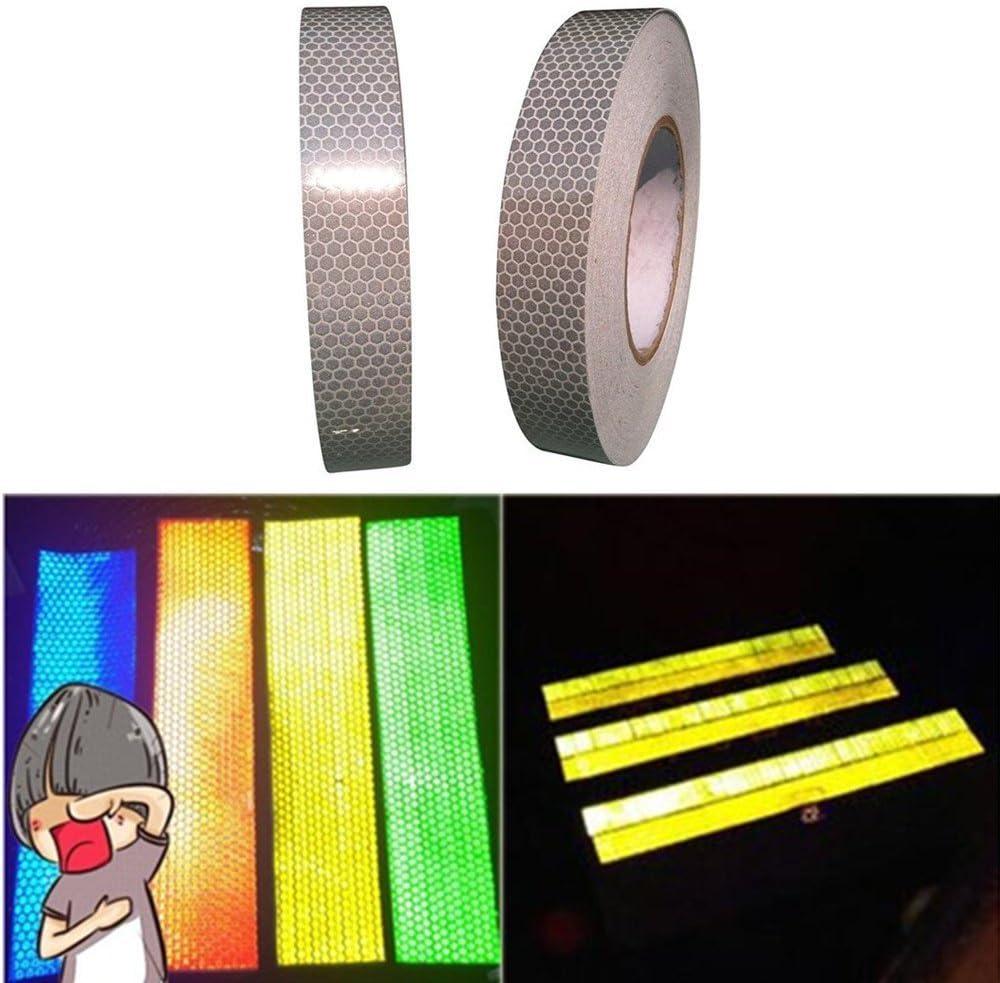 Tuqiang/® 25/mm x 2,5/m Reflektierendes Sicherheits-Klebeband