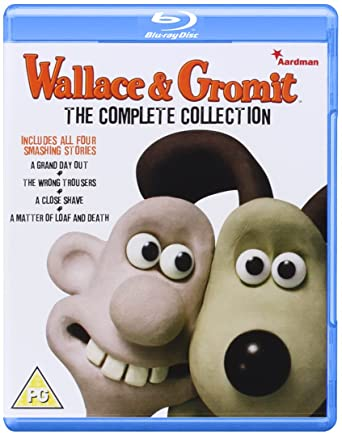 Wallace And Gromit The Complete Collection Bluray Amazoncouk
