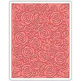 Sizzix Rose Cartella di Goffratura, Plastic,, 17.5 x 12.4 x 0.5 cm
