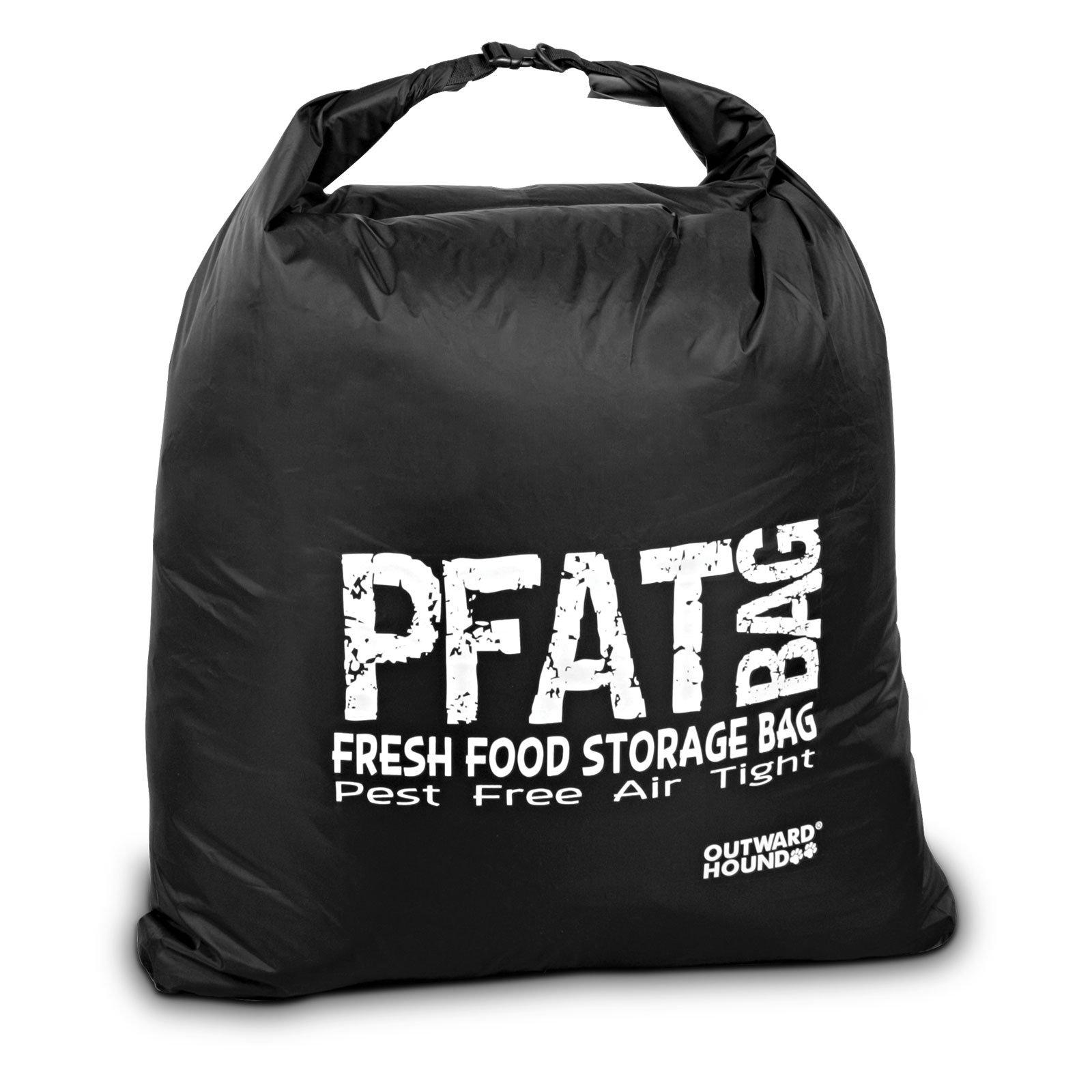 Outward Hound Kyjen  2685 PFAT Bag Storage Dog Food Container Solution, Large, Black