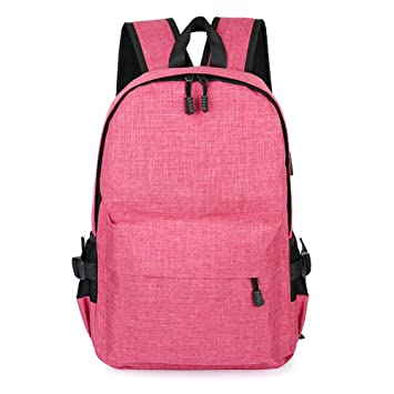 Favourall mochila Nomad Everyday lienzo Militar anti Theft Laptop portátil antirrobo ordenador Backpack rosa Rose