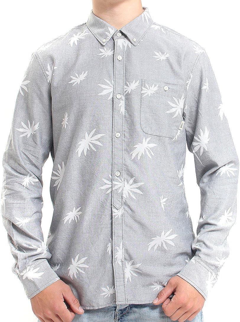 Vans – Camisa – Camisa Gris Hombre – Gris Gris Large: Amazon.es: Ropa y accesorios