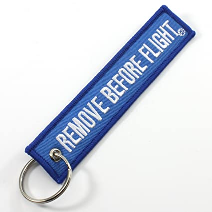 Image Unavailable. Image not available for. Color  Rotary13B1 Remove Before  Flight Keychain ... de444458dc