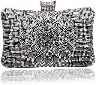 WANYANB Frauen-Diamant-Formale Partei-Hochzeits-Abend-Sparkly Clutch-Tasche