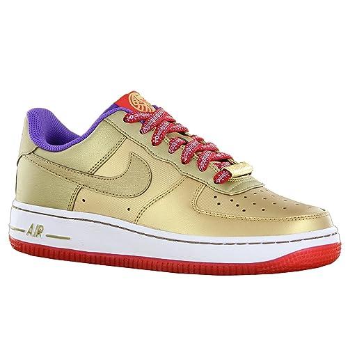 NIKE - Zapatillas de Sintético para Mujer Dorado Dorado Dorado Size: 38.5 EU: Amazon.es: Zapatos y complementos
