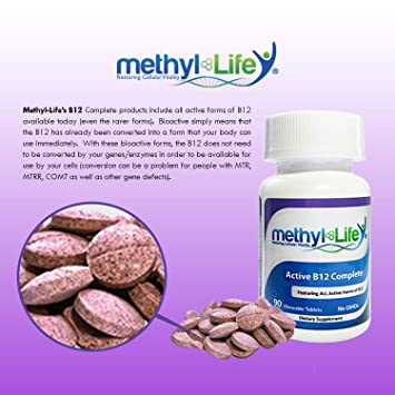 Amazon.com: B12 completa chew-able tabletas – 90 servings ...