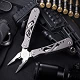 Grand Way Mini Multitool with Knife and Pliers