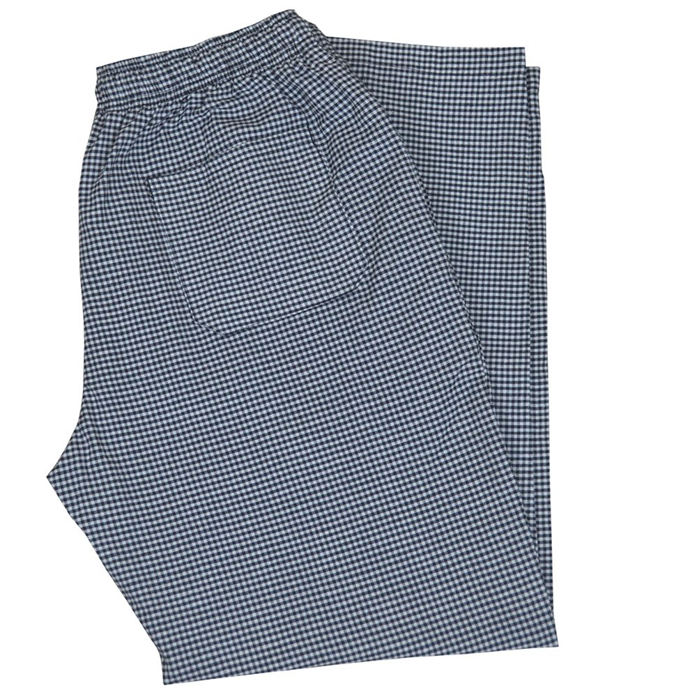 PH Gingham Check Trousers Pant Unisex 3 Pockets Work wear