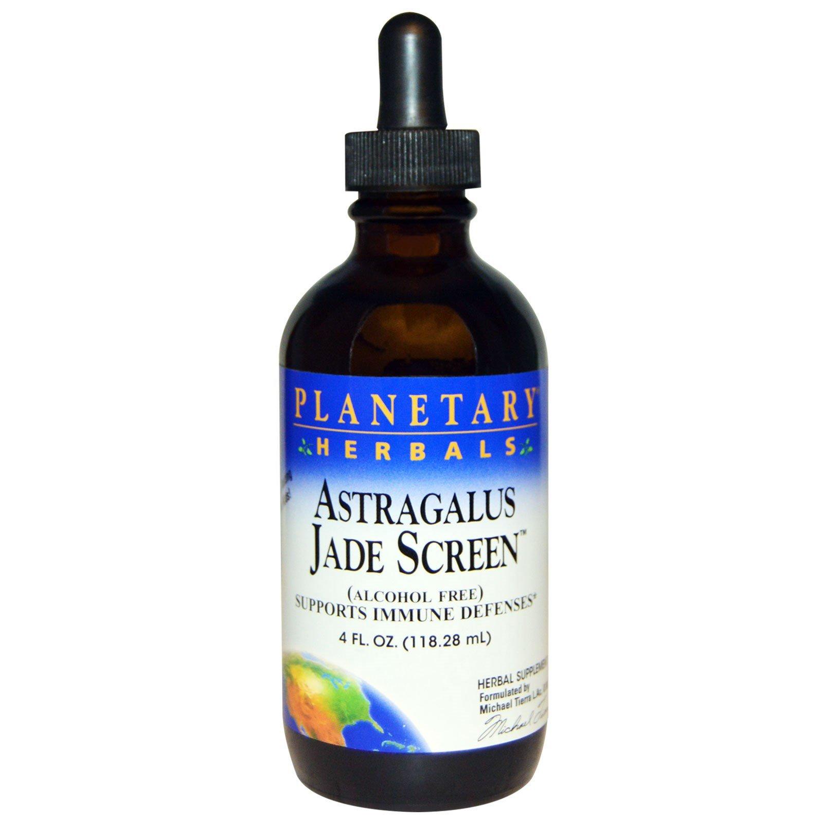 Planetary Formulas Astragalus Jade Screen, 4-Ounce (Pack of 2)
