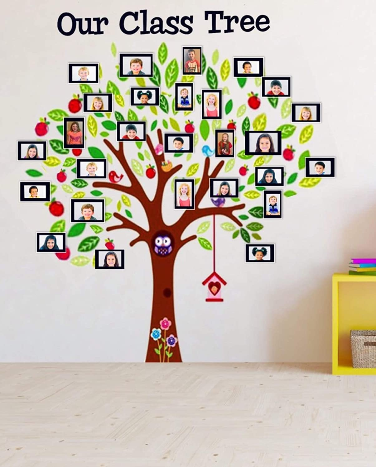 Classroom Decoration Class Tree Wall Decal Sticker with ...