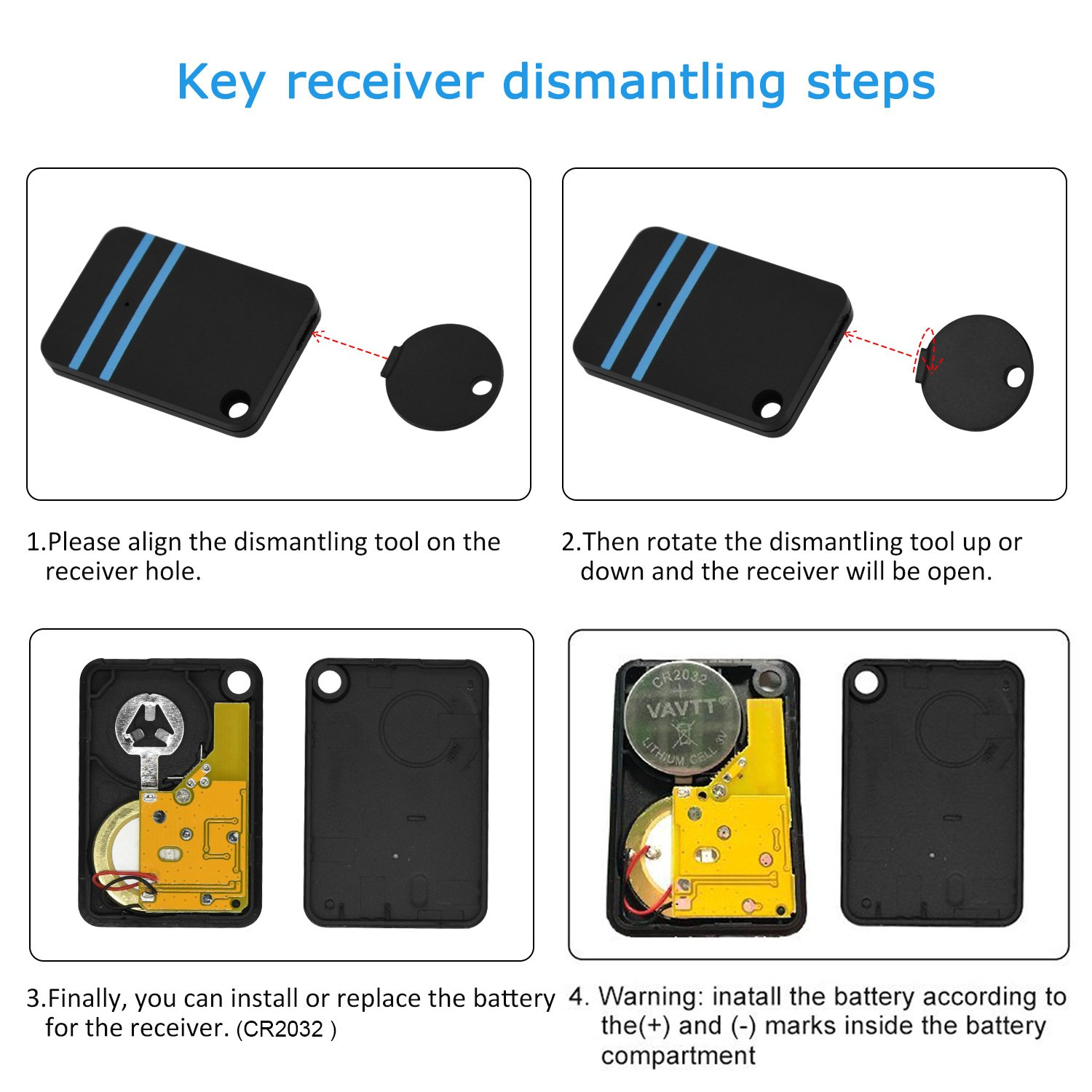 LOBKIN Key Finder, Mini Anti-Lost Tracker Wireless RF Item Locator Key Tracker (Upgrade Long Lasting Batteries), Pet Dog Cat Tracker, Purse Tracker Locator Tag Alarm, Wallet Phone Finder-Black (5in1)