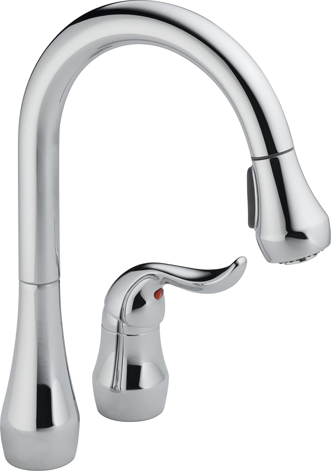 Peerless P188102LF Apex Kitchen Widespread Pull Down Kitchen Faucet, Chrome
