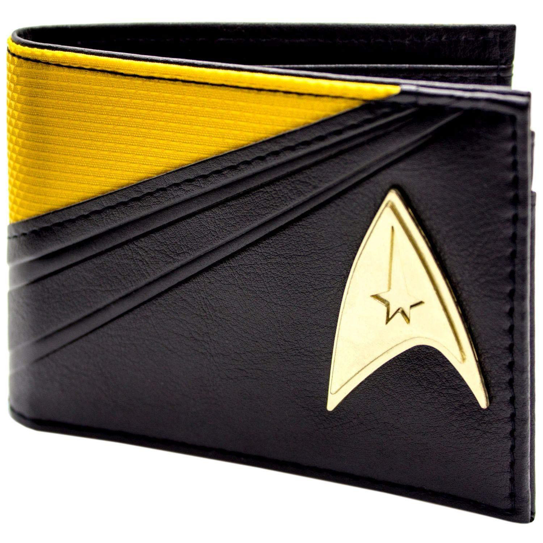 Star Trek Starfleet Costume de Commandement Noir Portefeuille