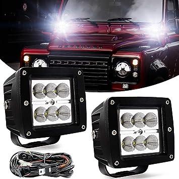 Car Truck Led Light Bar Off-road Vehicle Driving Spot Combo Beam Car Work Lights