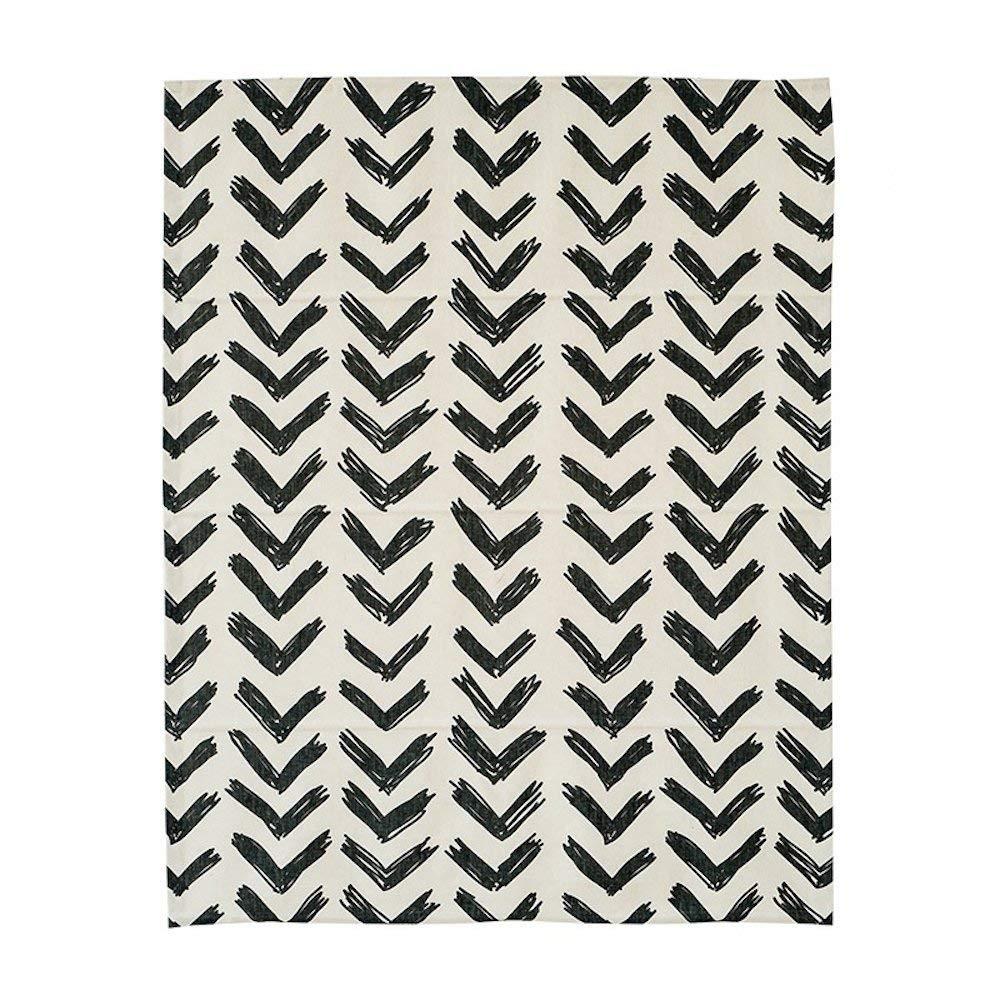 KARUILU home Quick Fix Washable Roman Window Shades Flat Fold, Black and White Pattern (34W x 63H, Inkflow)