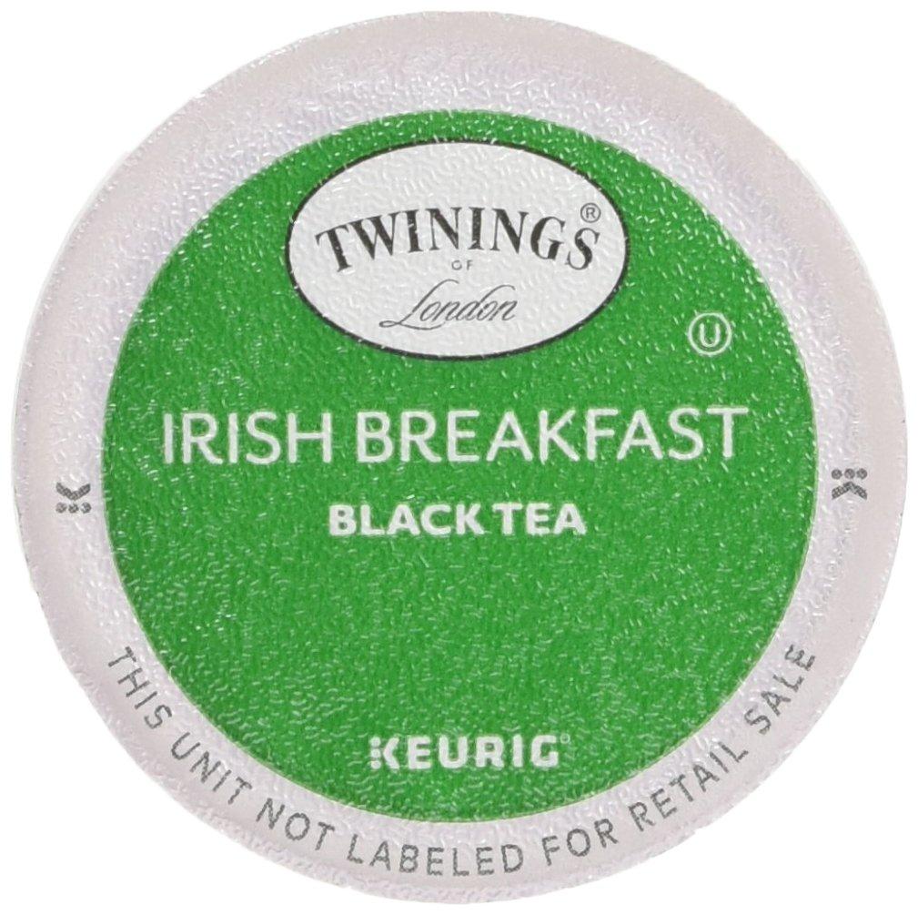 Twinings of London Irish Breakfast Tea K-Cups for Keurig®, 24 Count (Pack of 4) by Twinings of London
