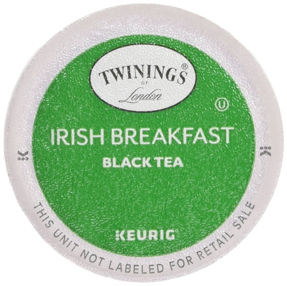 Twinings of London K-Cup Portion Pack for Keurig K-Cup Brewers Breakfast Tea, Irish, 24 Count (Pack of 4) by Twinings