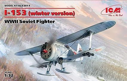 Amazon.com: ICM 32011 POLIKARPOV I-153 (versión de invierno ...