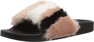STEVE MADDEN Womens /'Poolside/' Rose Pink Slide Sandals Sz 6-10