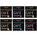 Viaggio Espresso- 60 Cápsulas de Café Compatibles con Máquinas Nespresso - Selección Clásicos