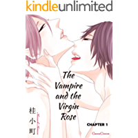 The Vampire and the Virgin Rose (Yaoi Manga) #1 book cover