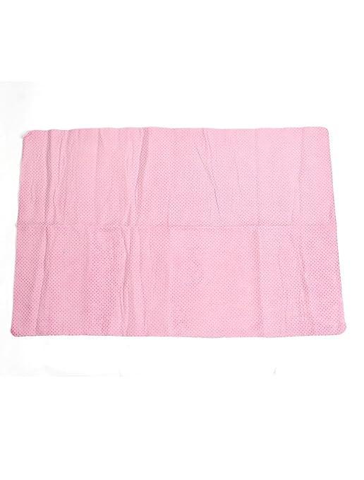 Amazon.com: Rosa retângulo Chamois Leather lavagem absorvente 66x43cm secador de toalhas: Automotive