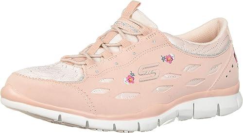 zapatillas skechers mujer flores