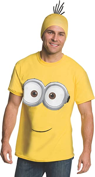 Kit disfraz de Minion para adulto: Amazon.es: Ropa y accesorios