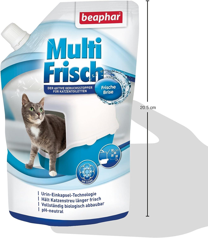 Beaphar Multi recién Brisa | neutralizador de olores para Gato nklos | alarga la Vida útil de Gato dispersa, Aromas de Brisa Fresca, 400 g: Amazon.es: Productos para mascotas