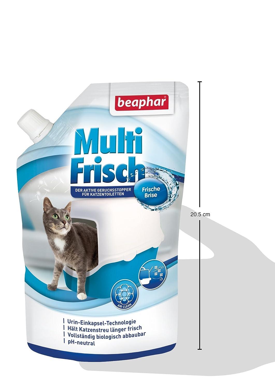 Beaphar Multi recién Brisa | neutralizador de olores para Gato nklos | alarga la Vida útil de Gato dispersa, Aromas de Brisa Fresca, 400 g