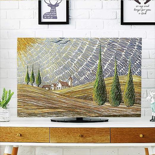 Jiahonghome protege tu televisor con varias imágenes de estilo de ...
