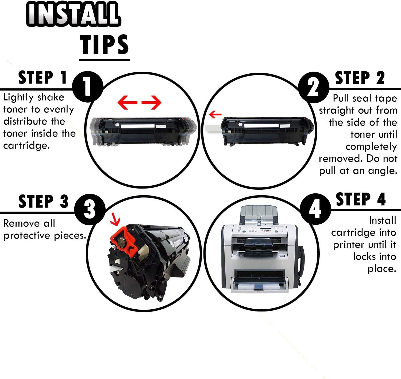 Inkfirst Compatible Toner Cartridge Replacement for HP Q2612X 12X LaserJet M1319 M1319F 1010 1012 1018 1020 1022 1022N 1022NW 3015 3020 3030 3050 3052 3055 M1005 MFP