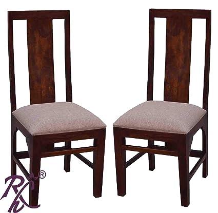 RAJ HANDICRAFT (2 PIC. Set) Dinning Chair