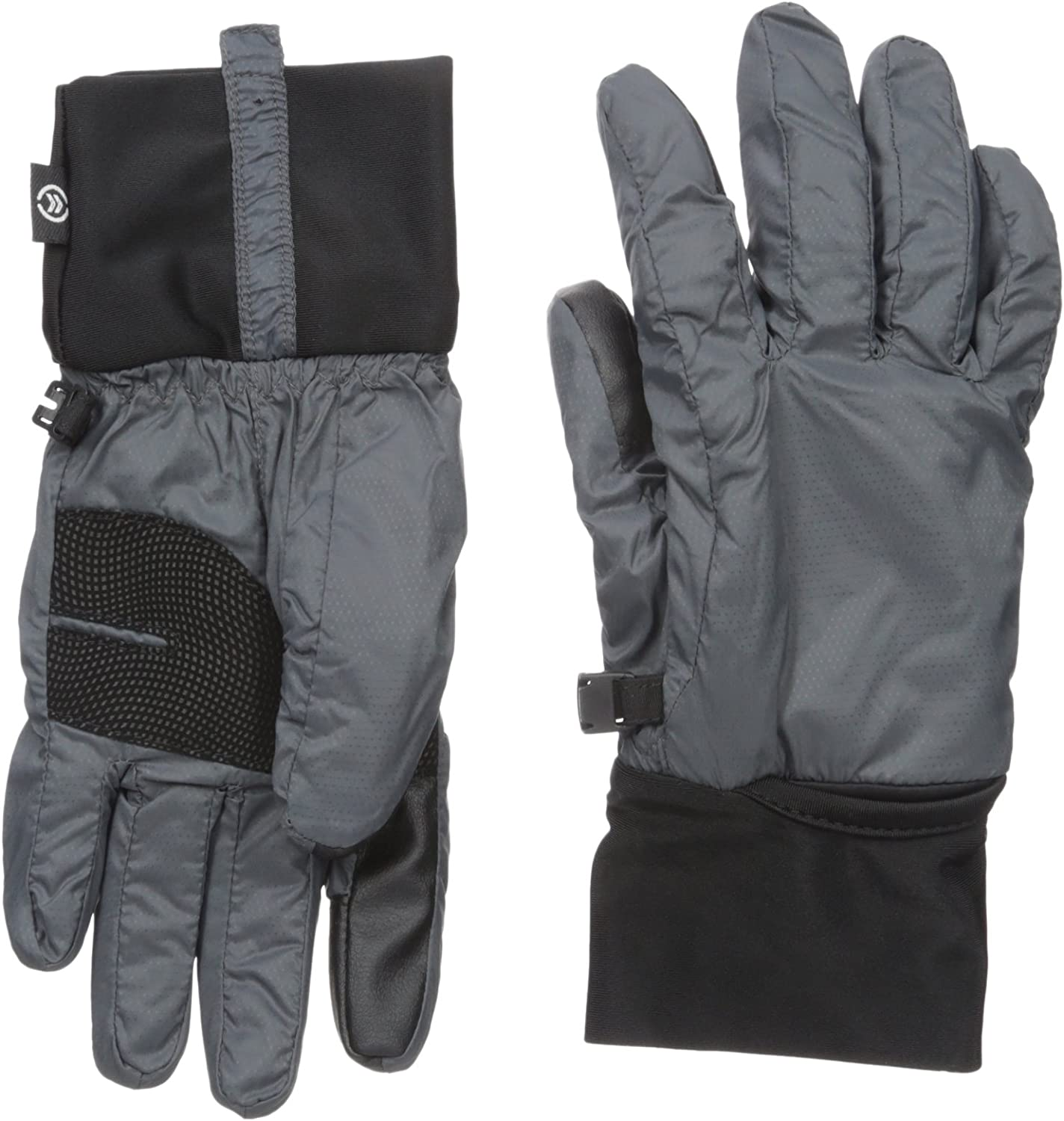 Isotoner Women's Packable Cuff Gloves with Smartouch Technology