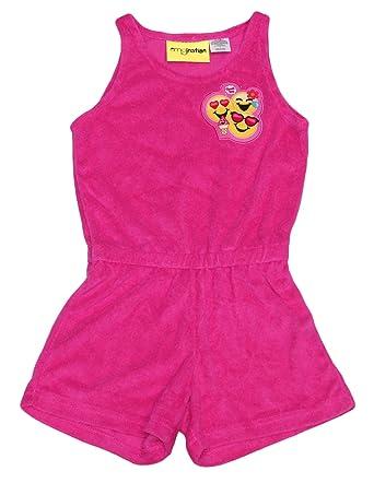 05cda578a2 Amazon.com: Dreamwave Big Girls' Emoji Romper: Clothing