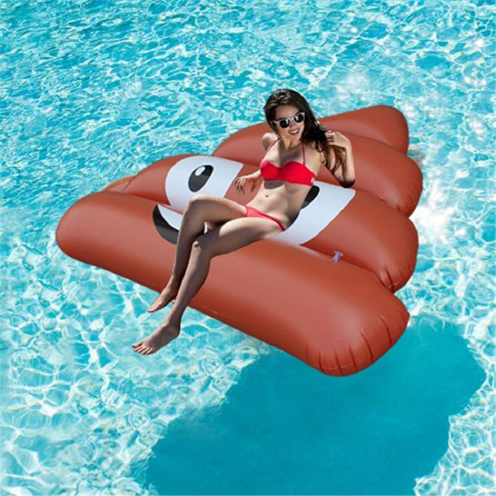 Shape of feces Floating ring Adult floating ring Ukiwa 150 165 cm Swimming pool Adult playing a big success in adult Water floating ring Safety Durable Swimming Beach Water play Bath Swimming aids D by Cass (Image #6)