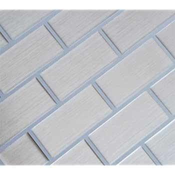 Amazon Com Ecoart Mosaic Peel And Stick Tile Backsplash