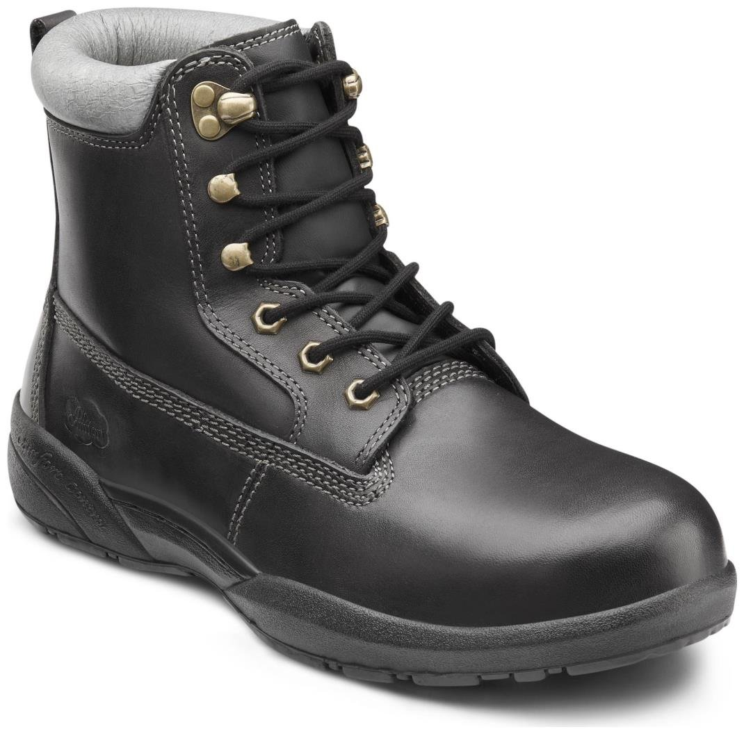 Dr. Comfort Protector Men's Therapeutic Diabetic Extra Depth Boot: Black 11 X-Wide (3E/4E) Lace