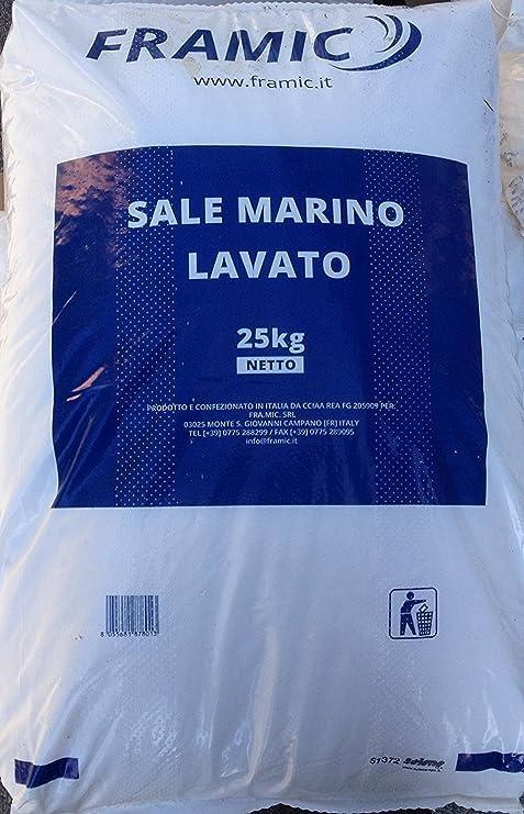 SALE GRANULARE 25 KG CLORINATORE ELETTROLISI PISCINA ADDOLCITORE DI ...