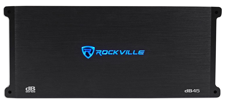 Loud! 980w RMS @ 2 Ohm CEA Compliant Mono Car Amplifier Rockville dB55 4000 Watt 4000w Peak