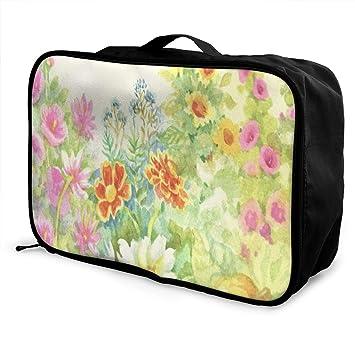 Amazon.com: Bolsas de viaje para otoño con calabaza y hojas ...