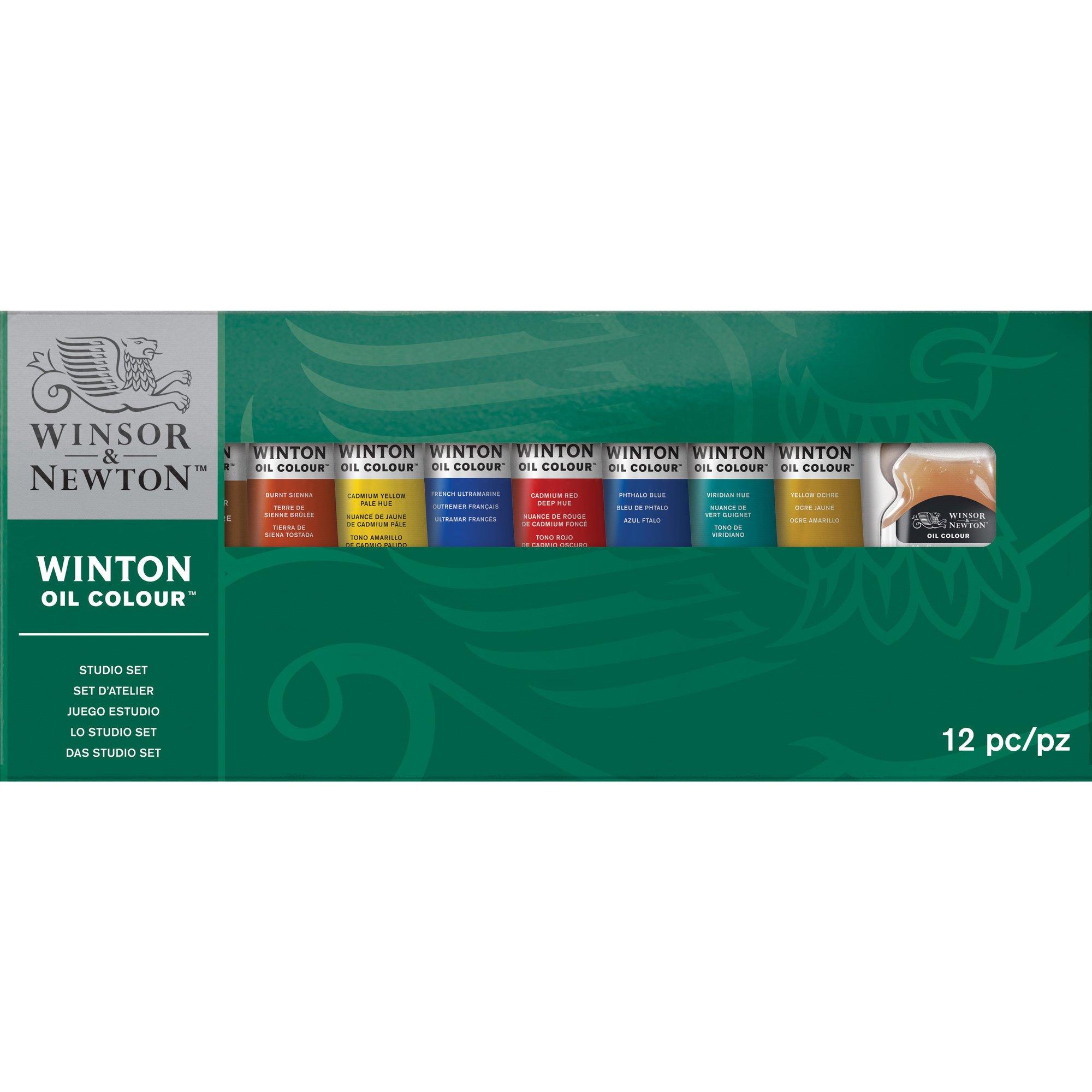 Winsor & Newton 1490620 Winton Oil Colour Studio Set by Winsor & Newton