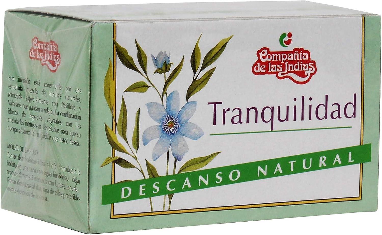 Indias Tranquilizante 20 Bolsitas - 30 gr