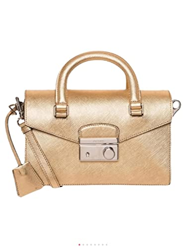 fd1784f632c0 Prada Women's Saffiano Mini Bag Gold: Handbags: Amazon.com