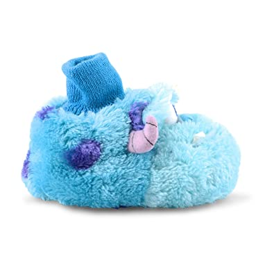 c20e91a7fdf New Babies Infants De Fonseca Monsters Inc Mike Sully Novelty Slippers UK  5-10