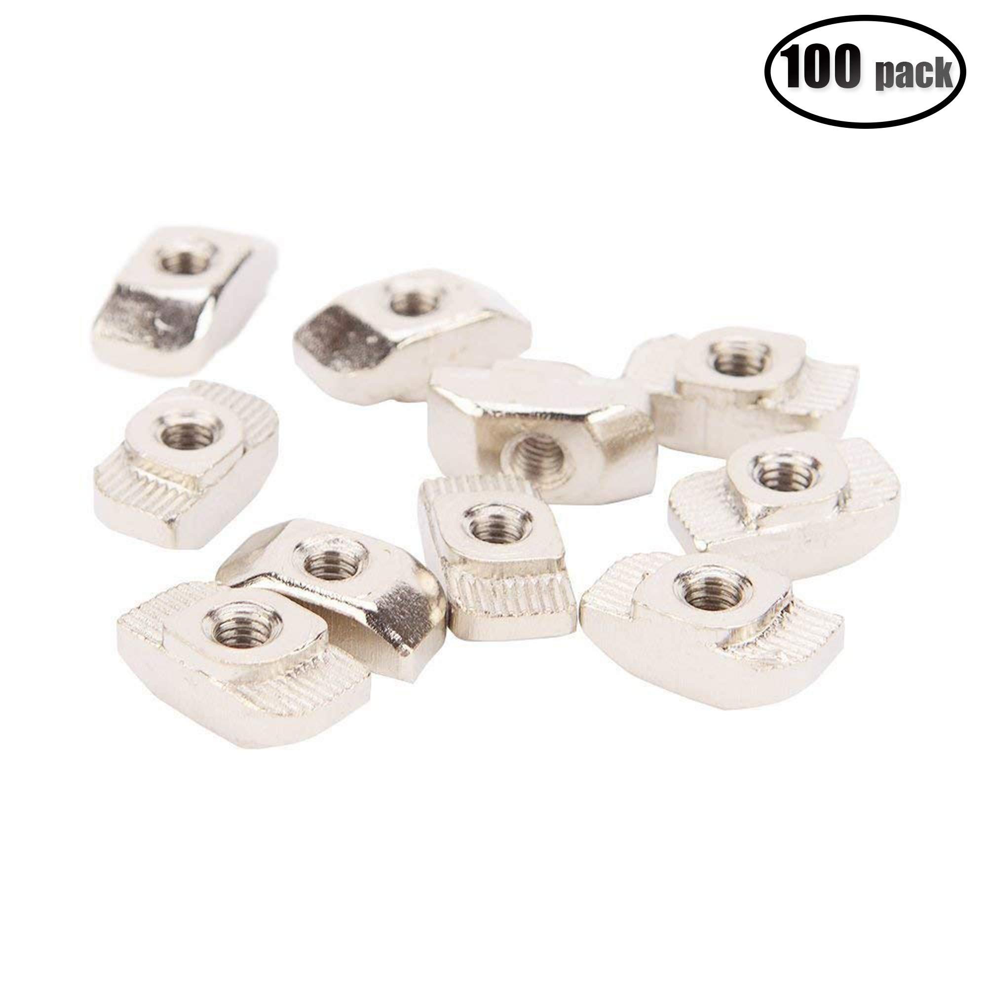 IZTOSS 100PCS Post Assembly M4 T Nut for 3030 Aluminum Profile