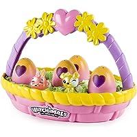 HATCHIMALS 6041273 Surtido de cestas de flores coleccionables