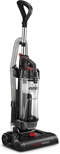 EUREKA NEU180A Lightweight Powerful Upright, Pet Hair Vacuum Cleaner for Home, Light Weight-graphite